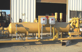 oil & gas production equimpent, pipeline metering skids, alternative fuel systems, propane loading skids